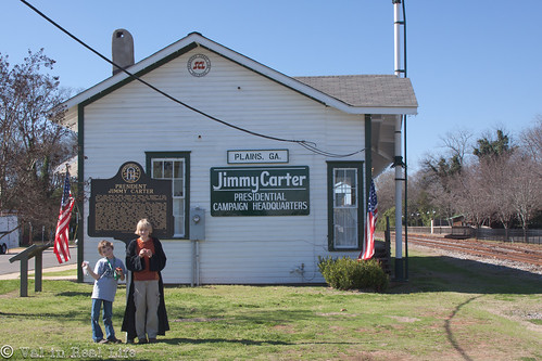 jimmy carter national historic site - val in real life