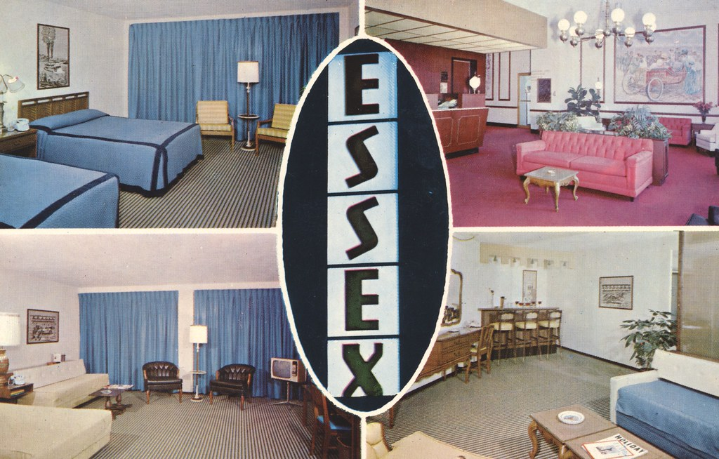The Essex House Motel - Indianapolis, Indiana