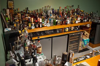 Duane Sylvestre's Home Bar | by Washingtonian.com