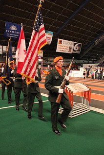 Simplot Games Colorguard | by ISU Bengal ROTC