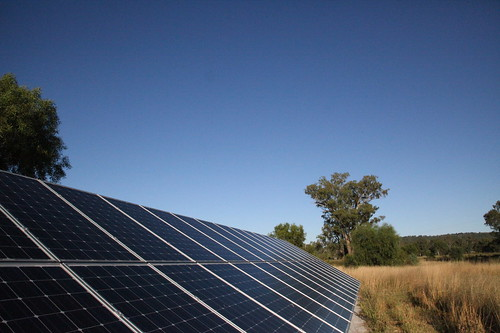 Solar Panels in Maules Creek | by kateausburn