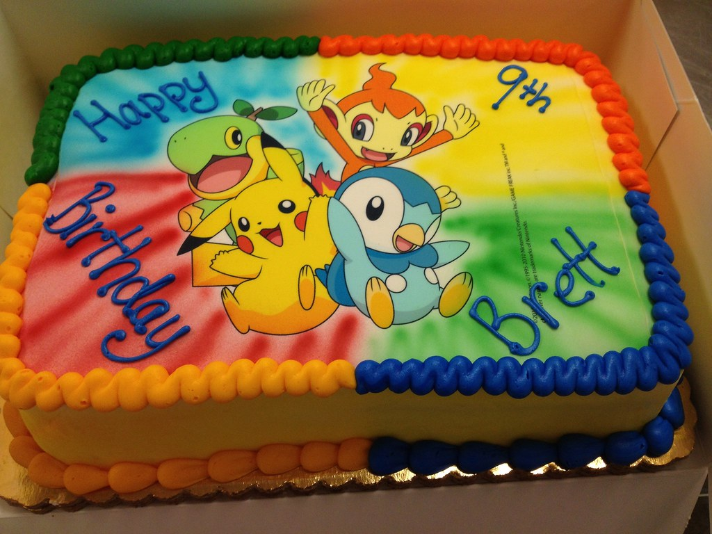 Pokemon Birthday Cake Misslandis Flickr
