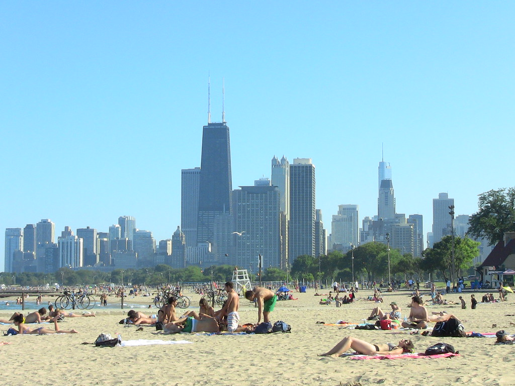Chicago Fullerton Beach Summer 2010 IMG 0297