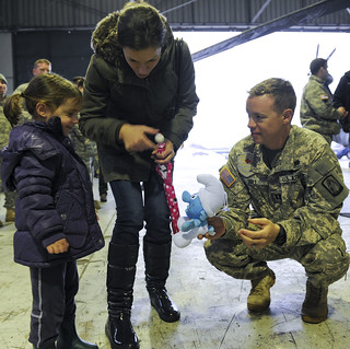 Giving a gift | by U.S. Army Europe