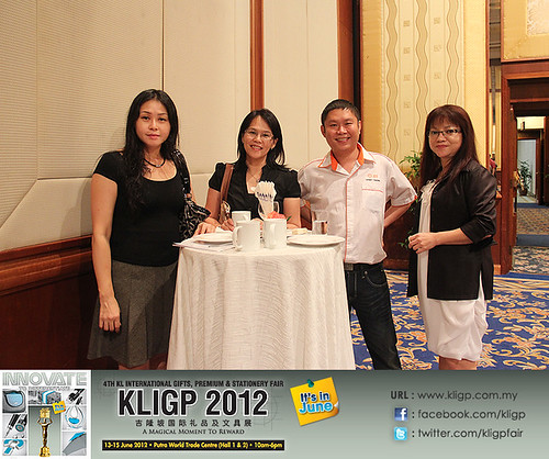 4th KL International Gifts, Premium & Stationery Fair - KLIGP 2012 Official Launching & Booth Balloting. | by KLIGP Expo