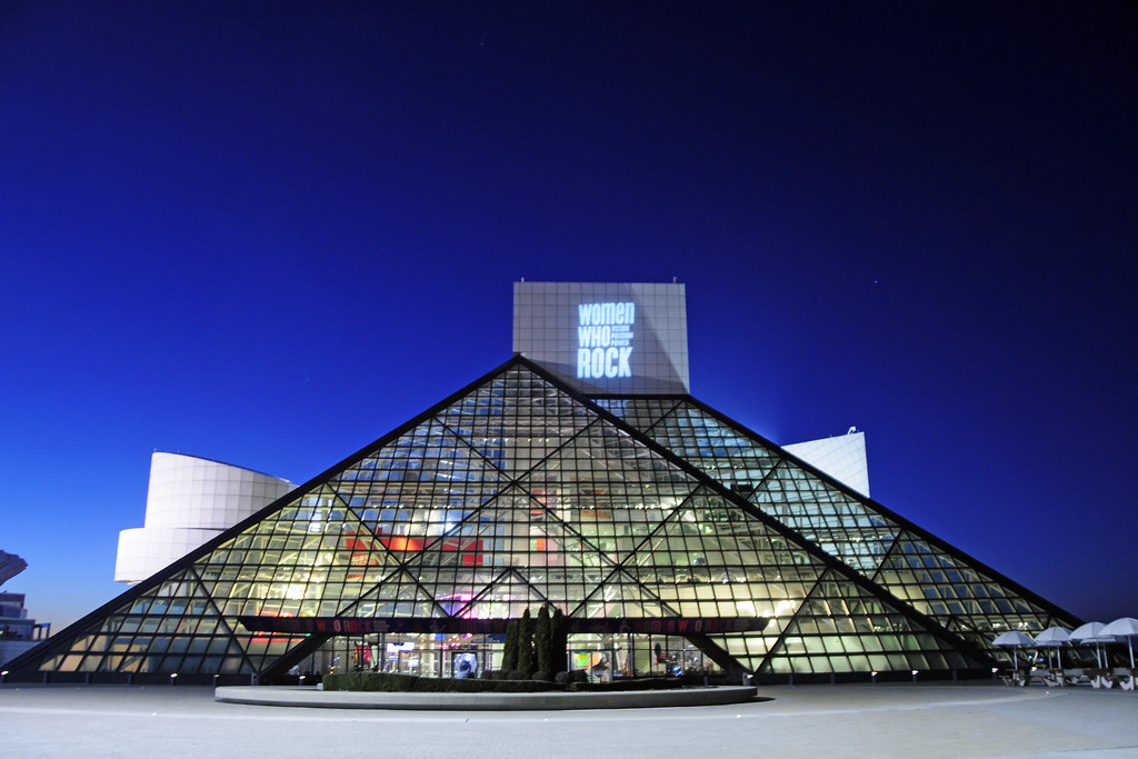 rock and roll hall of fame cleveland ohio by tony fischer photography