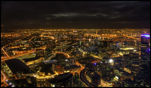 Melbourne view from Eureka Skydeck 88 TheEdge | by H@ppyfacE