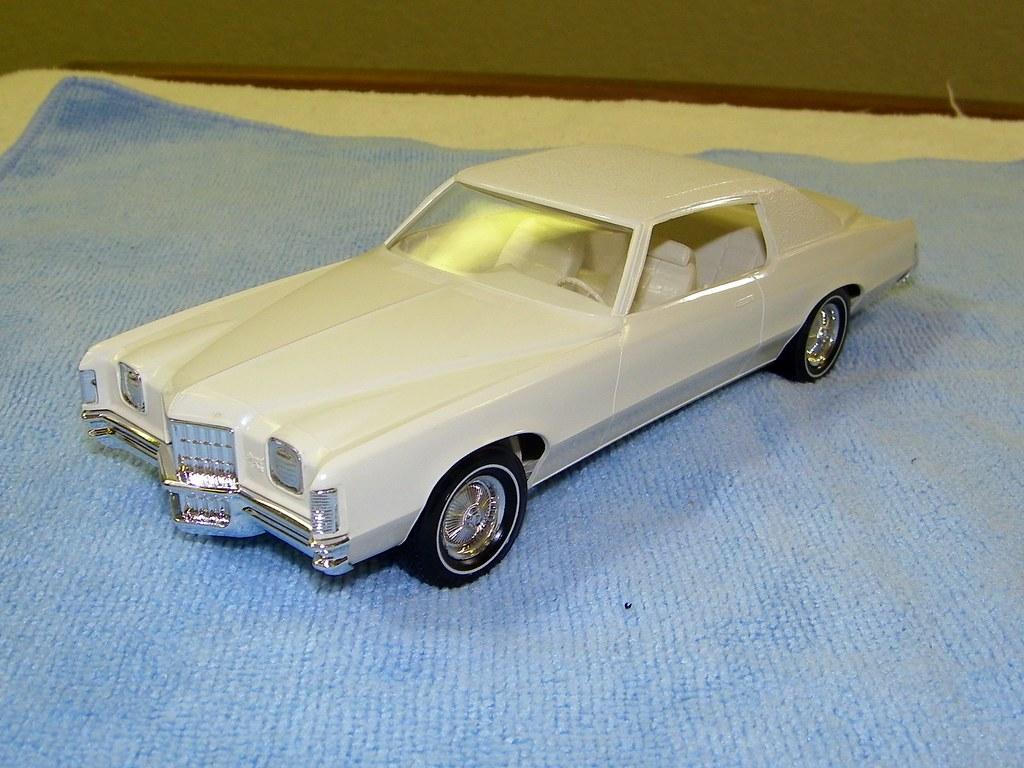 1972 Pontiac Grand Prix Promo Model Car - Cameo White | Flickr