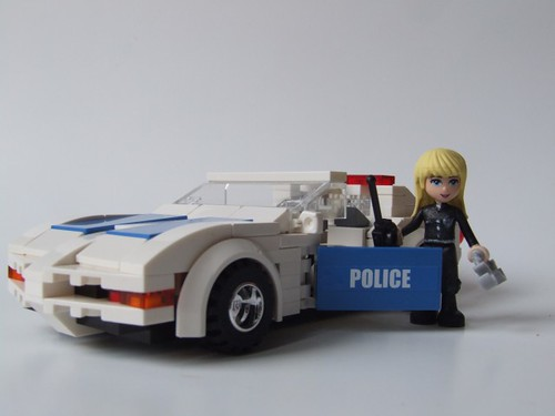 Stephanie's Cool Corvette - Heartlake County Highway Patrol | by ER0L