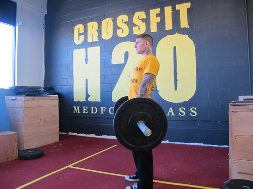 Clean_hang_high | by CrossFit H2O