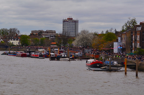 Boat Race 2012 In Hammersmith | by Lapatia