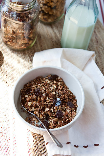 Crispy Chocolate Granola | by Back to the Cutting Board