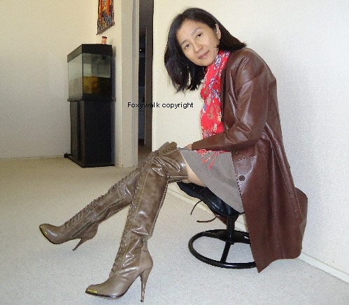 Joie Leather Boots Foxywalk Flickr