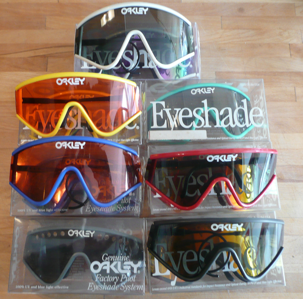 oakley eyeshade prezzo