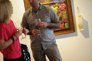 Jordan Winery's 4 on 4 Dallas Art Competition Hosted by D Magazine at Rising Gallery | by 4on4Art