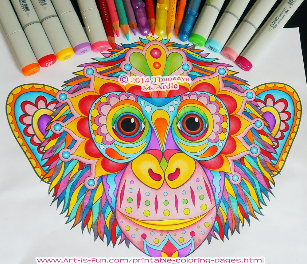 Coloring pages in color - Coloring Pages In Color 54
