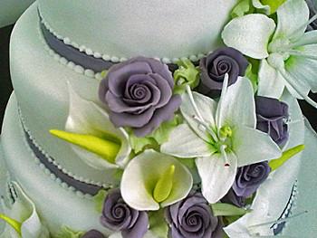 Hochzeitstorte Mit Lilien Ute Kosmell Flickr