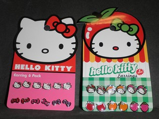 Hello Kitty (earrings) | by mikaplexus