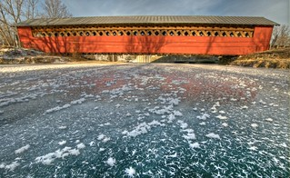 Paper Mill Covered Bridge | by jcbwalsh