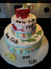 Dr. Seuss Baby Shower Cake | By Forgoodnesscakes22 ...