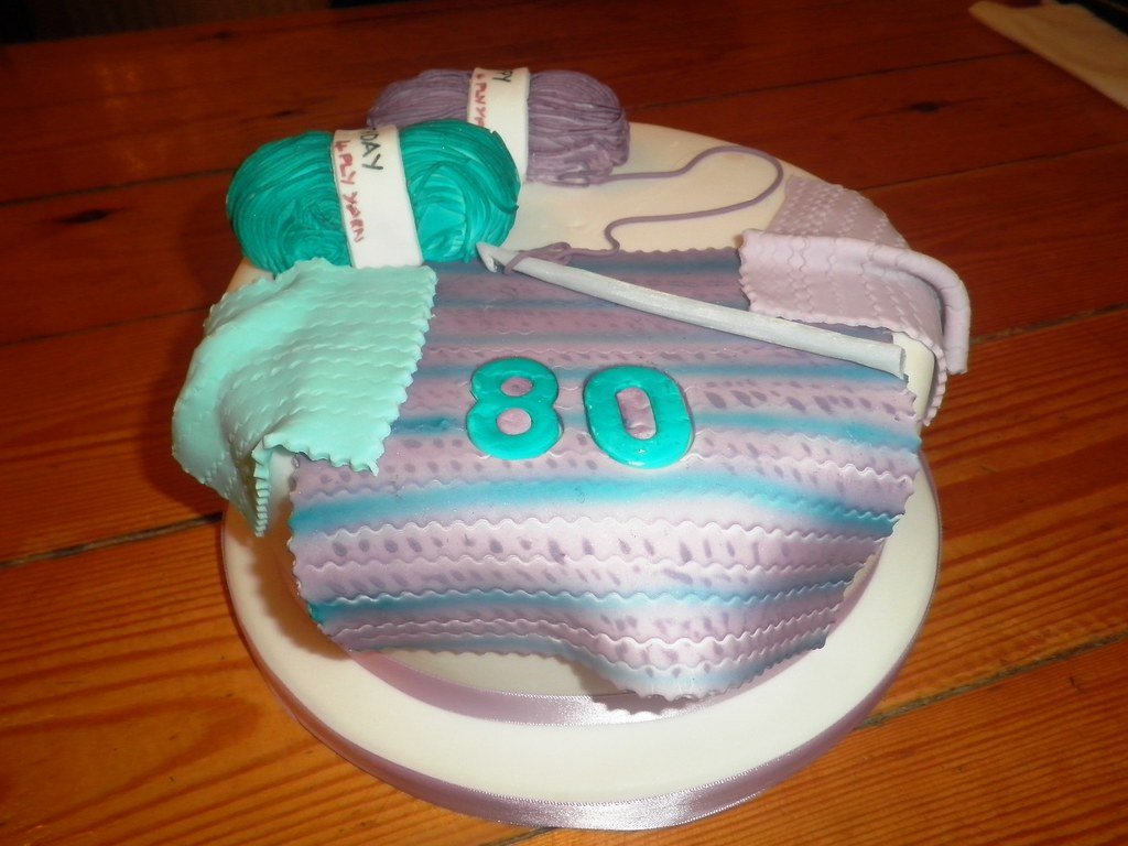 Knitting Cakes Images : Birthday cake knitting th wool trulyscrumptiouscakes moou flickr