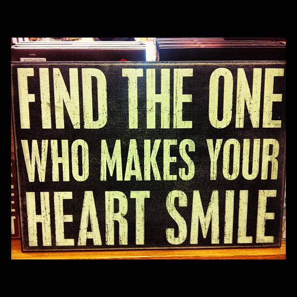 Find The One Who Makes Your Heart Smile Julianna Young Flickr