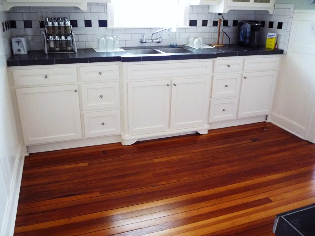 linwood vintage kitchen white painted 1930s cabinets black… | Flickr