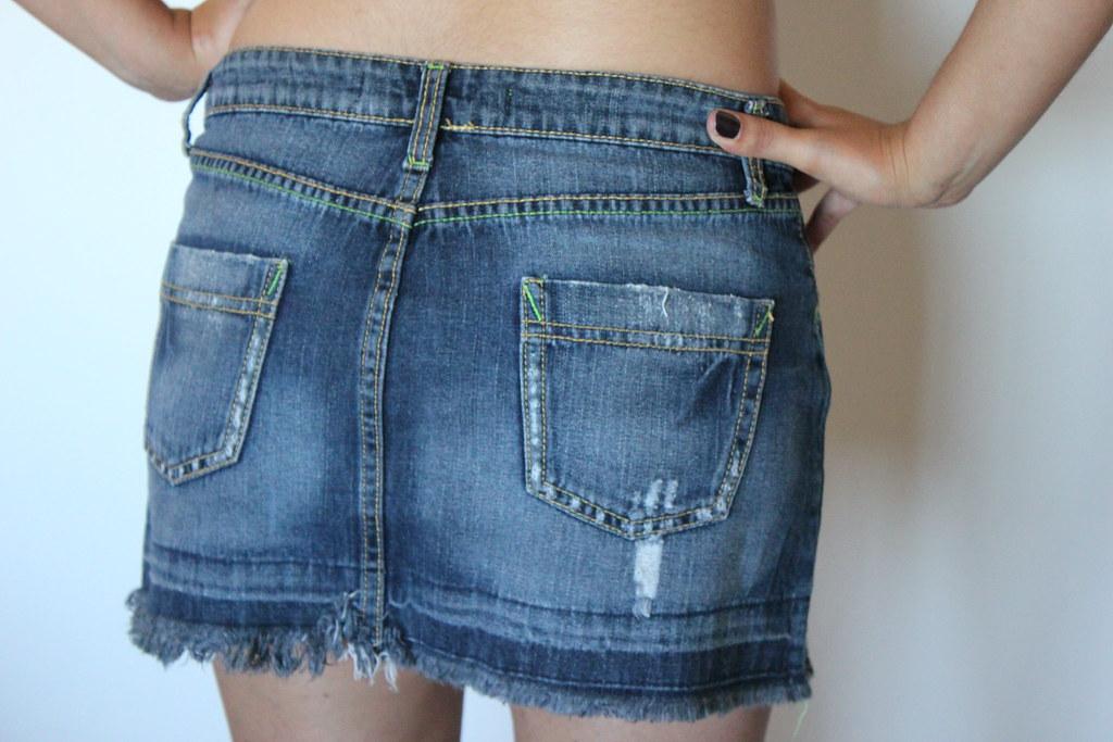 ... falda mezclilla  b9b68c9c48d0
