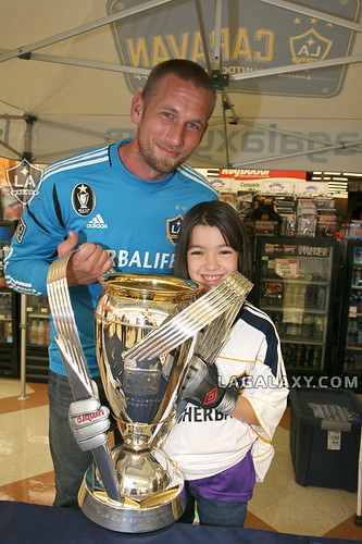 Galaxy Caravan - Josh Saunders @ Super A Foods | by LA Galaxy