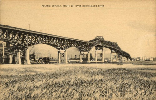 Cd E E on Pulaski Skyway Map