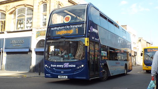 Nottingham City Transport - YN15EJA - Loughborough - 14 May 2016