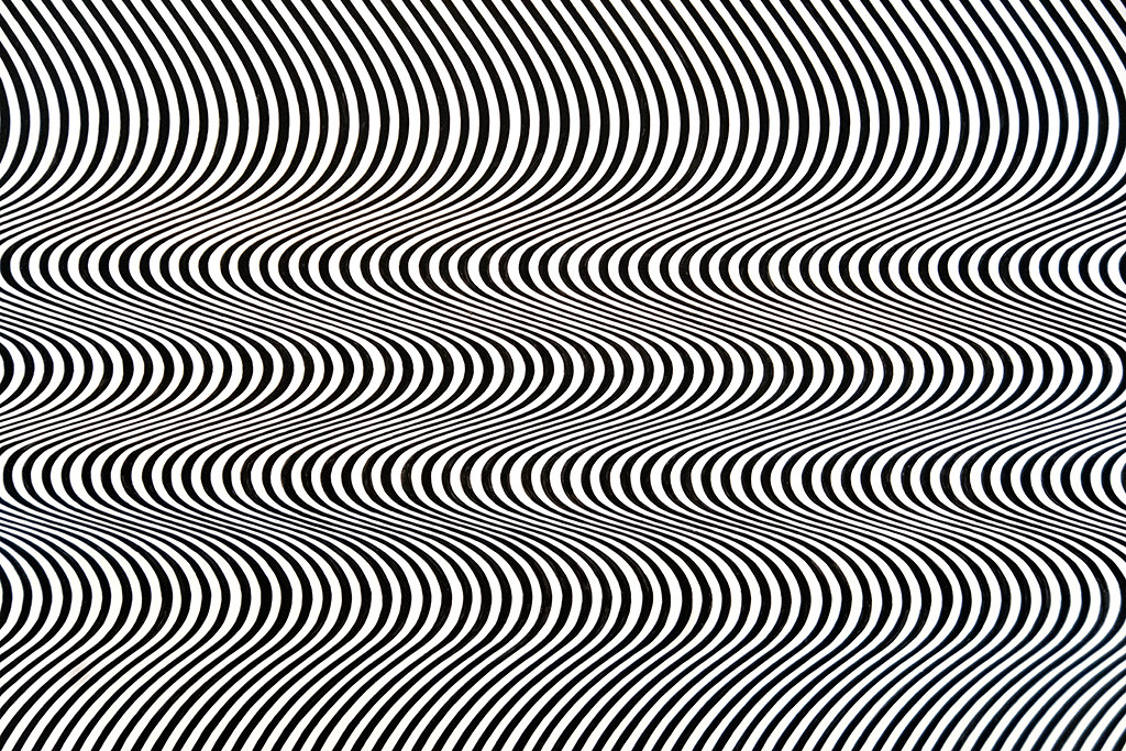 Préférence Bridget Riley - Current, 1964 [close-up] | The Curve Paintin… | Flickr EC06