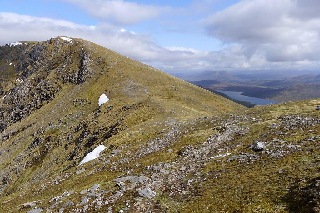 Western ridge of Sgurr Breac