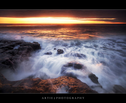 Well, Its Just Another Sunset, Non-HDR Seascape Shot :: 0.9H + 0.9S GND Lee Filters | by :: Artie | Photography :: Travel ~ Oct