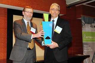 Facility Manager Winner: Rick Mock, Washington Holdings with Glenn Atwood, Seattle City LIght | by NEEA's BetterBricks Initiative