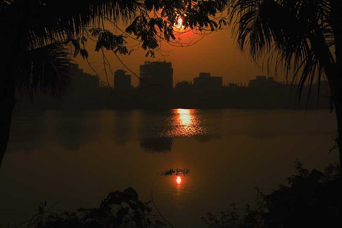 Sun Rise _Gulshan Lake | by HamimCHOWDHURY  [Read my profile before you fol