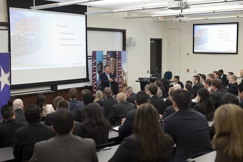Matthew Rose visits Mays | by Mays Business School