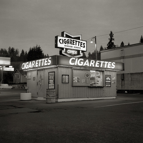Cigarettes, Rainier, Oregon | by austin granger
