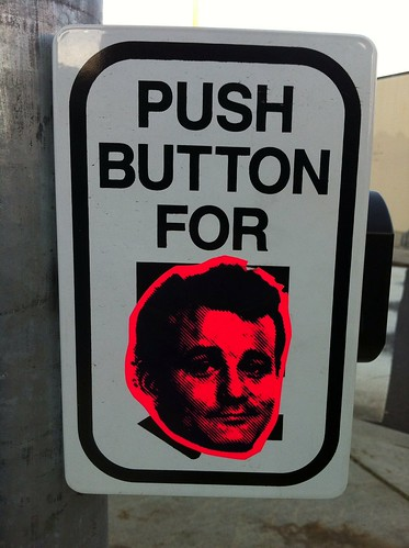 Push button for Bill Murray | by Francis Storr
