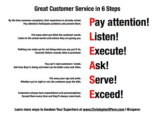 6 Steps to Great Customer Service | by Christopher S. Penn