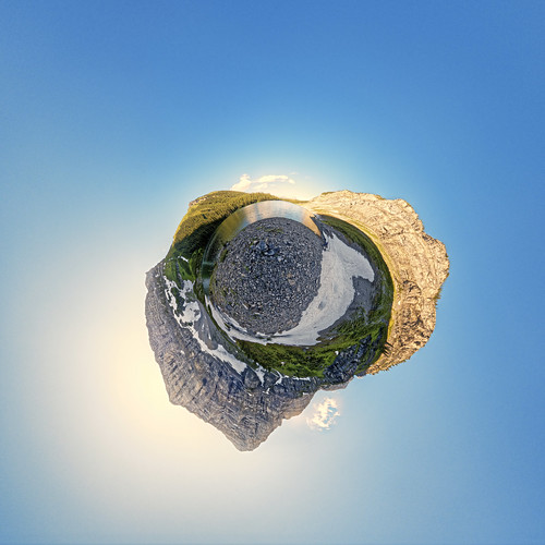 Rawson Lake XIV Little Planet | by etherflyer