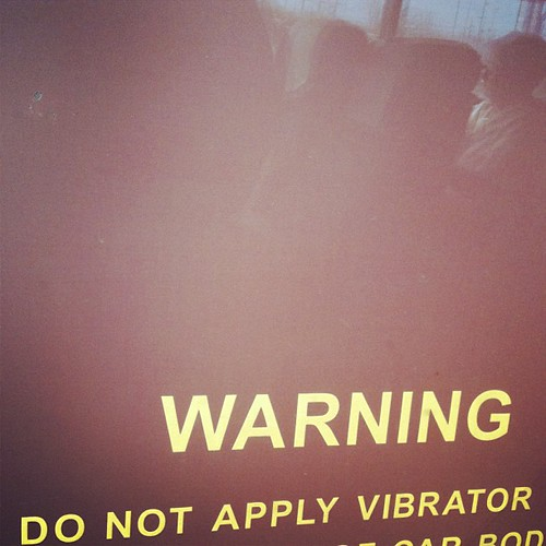 WARNING Do Not Apply Vibrator | by yougrowgirl