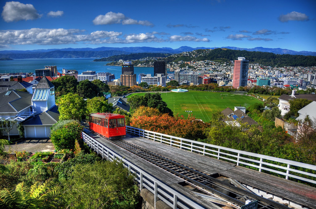 Wellington Cable Car and City