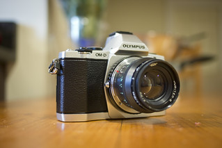 Olympus OM-D E-M5 with Jupiter 8 lens | by soelin