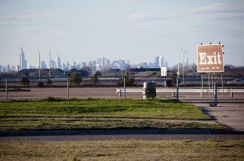 Manhattan Skyline Viewed from Jacob Riis Park, Rockaway Queens | by ChrisGoldNY