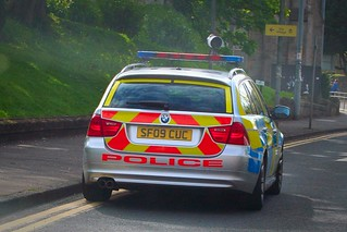 Strathclyde Police BMW 330d Touring (SF09 CUC) | by UK EVPhotography