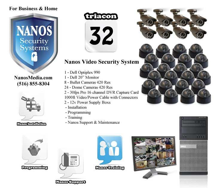 Nanos Security Sustems triacon 32 | see NanosMedia com for m