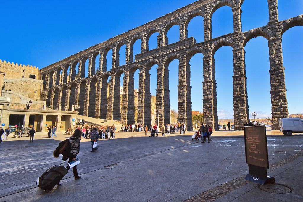 Aqueduct of Segovia Castilla y Len Spain Toms Fano Flickr