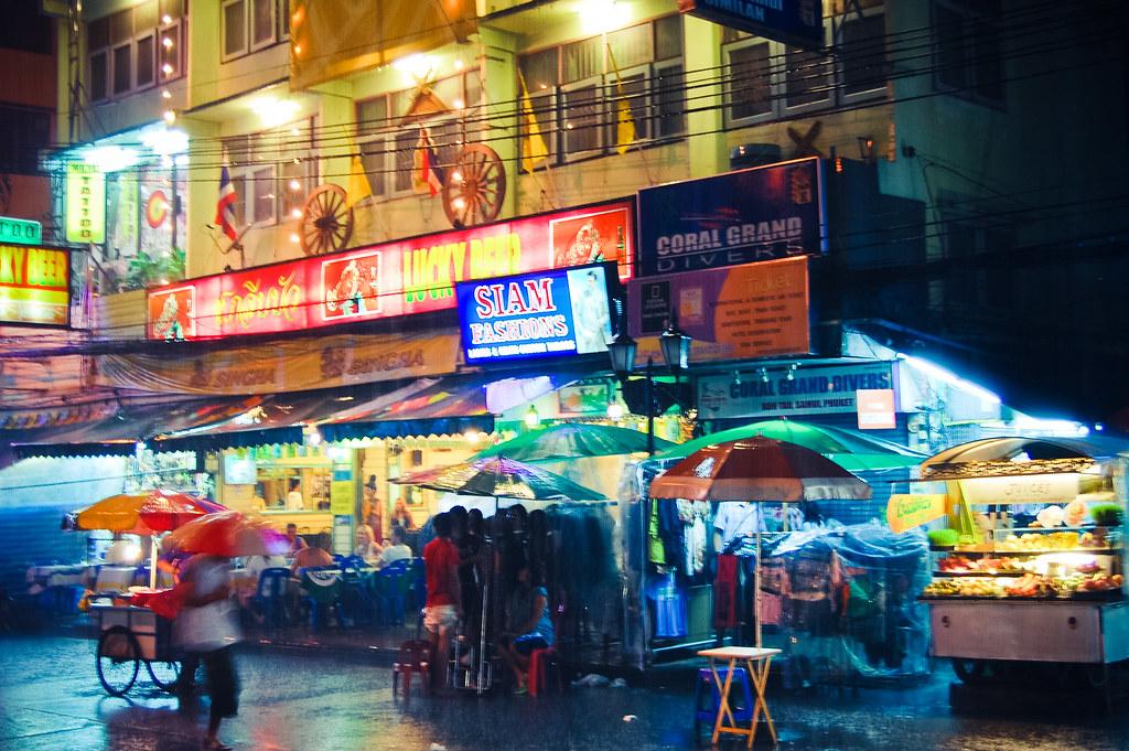 rainy Bangkok