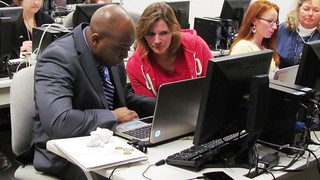 ECBC continues to train with Cecil County Public Schools teachers on a new digital math learning tool | by U.S. Army Edgewood Chemical Biological Center